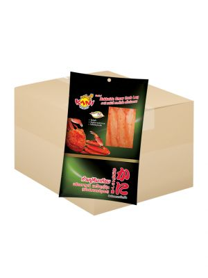Snow Crab 60g. (Shoyu + Wasaba) ( 1 box )