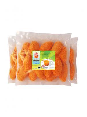 ก้ามปูเทียมชุปเกล็ดขนมปัง 500กรัม ( 3 แพ็ค )