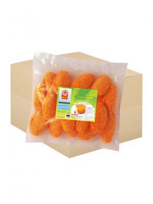 ก้ามปูเทียมชุปเกล็ดขนมปัง 500กรัม ( 10 กล่อง )