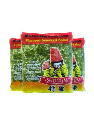 FLAVORED SEAWEED SALAD 500G. ( 3 packs )