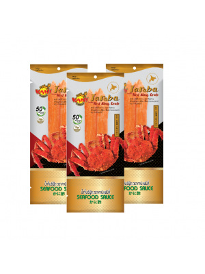 Taraba Red King Crab 60g.(Seafood Sauce 10 ml.) ( 3 packs )