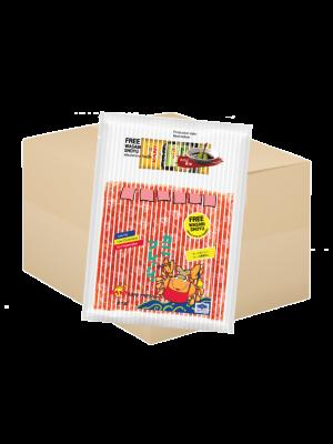 ปูอัดคานิเพรช500กรัม.  (ฟรี โซยุ+วาซาบิ) ( 10 กล่อง )