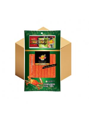 คานิ แฟมิลี่ แครปโตะ ซูชิ  100 กรัม (โซยุ+วาซาบิ) ( 10 กล่อง )