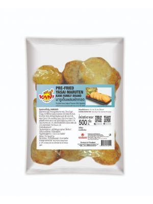 Pre-fried  Yasai Maruten 500 g. ( Half-Carton )