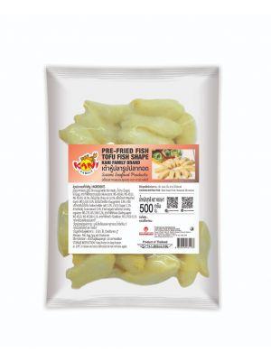 Pre-fried Fish Tofu Fish Shape  500 g . ( Half-Carton )