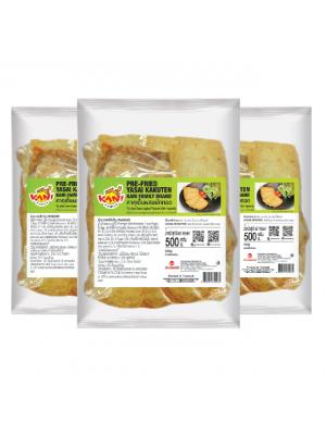 คาคุเต็นผสมผักทอด 500 กรัม ( 3 แพ็ค )