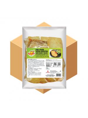 คาคุเต็นผสมผักทอด 500 กรัม ( 10 กล่อง )