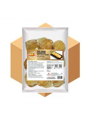 Pre-fried  Maruten  500 g ( 10 Carton )