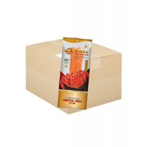 Taraba Red King Crab 60g.(Seafood Sauce 10 ml.) ( 1 box )