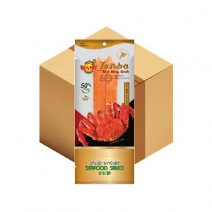 คานิ แฟมิลี่ ทาราบะ เรด คิงแครบ 60 กรัม (แถมฟรี น้ำจิ้มซีฟู๊ด) ( 10 กล่อง )